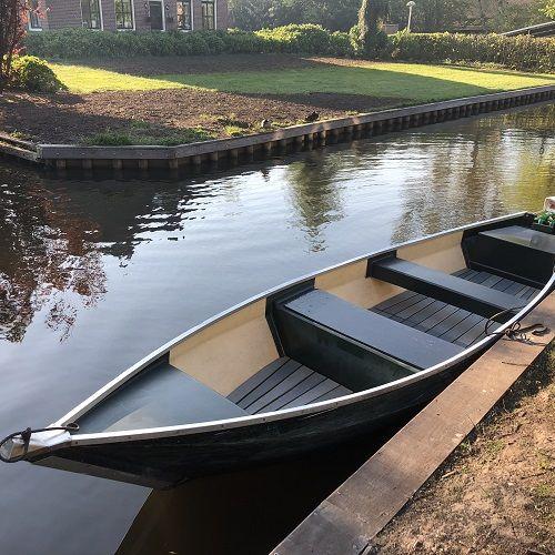 Fluisterboot max. 4 personen
